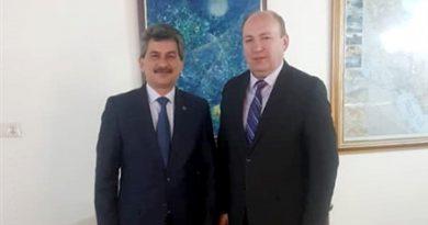 Встреча Президента ИК ОЭС с послом Турции в ИРИ